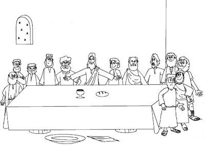 Pasión Muerte Y Resurrección De Jesúsdibujos Para Colorear La