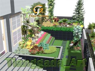 desain tukang taman gresik