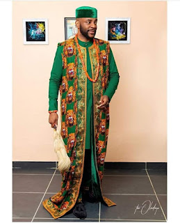 Later Ebuka Agbada Styles