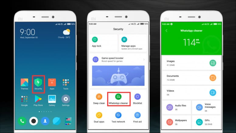 WhatsApp-Cleaner-MIUI-10-شاومي
