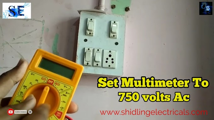How To Check Earthing Using Multi-meter And Test Lamp At Home