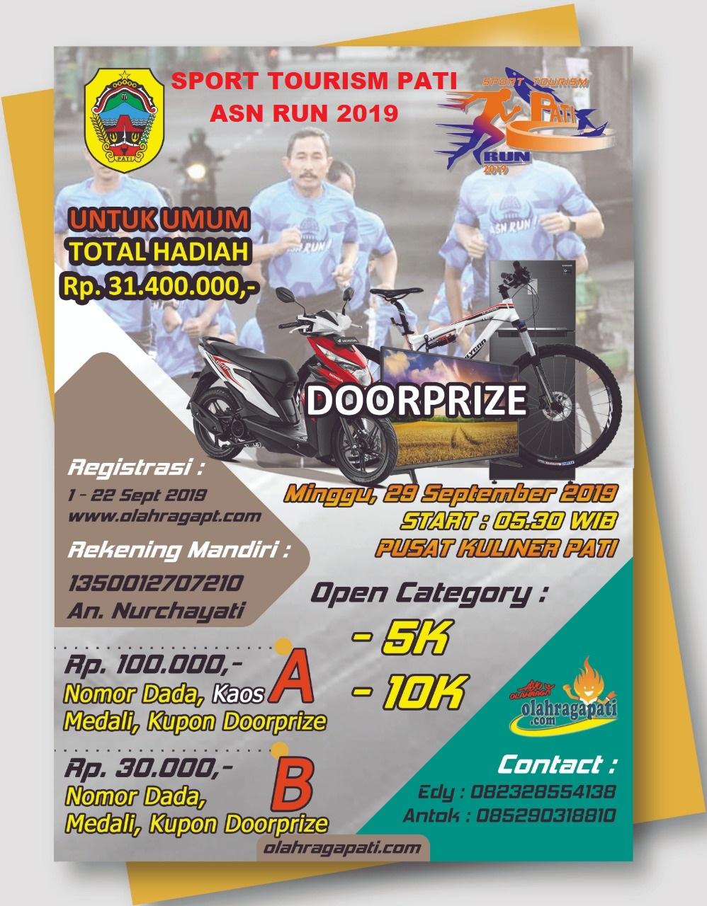 SPORT TOURISM PATI ASN RUN PATI 2019