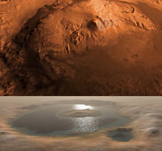 air di planet mars
