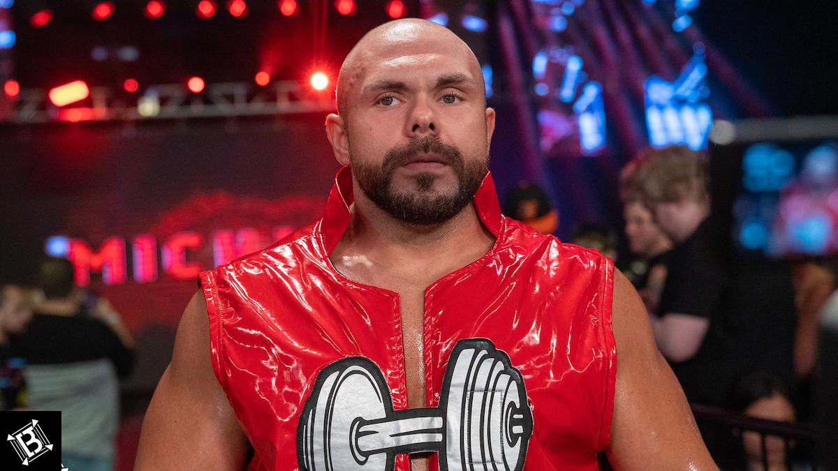 Michael Elgin pode não voltar para a NJPW