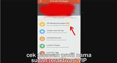 aktivasi vip aplikasi tantan menjadi gratis