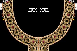 Jwellery-kurti-neck-designr-textile-print