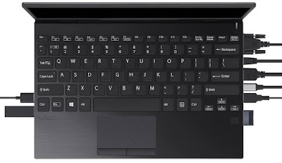VAIO SX12 laptop review, specs. Portable with 9 ports!