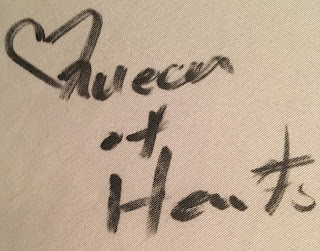 Queen of Hearts Autograph Disney