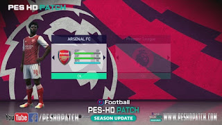 Update Menu and Graphics Like PES 2021