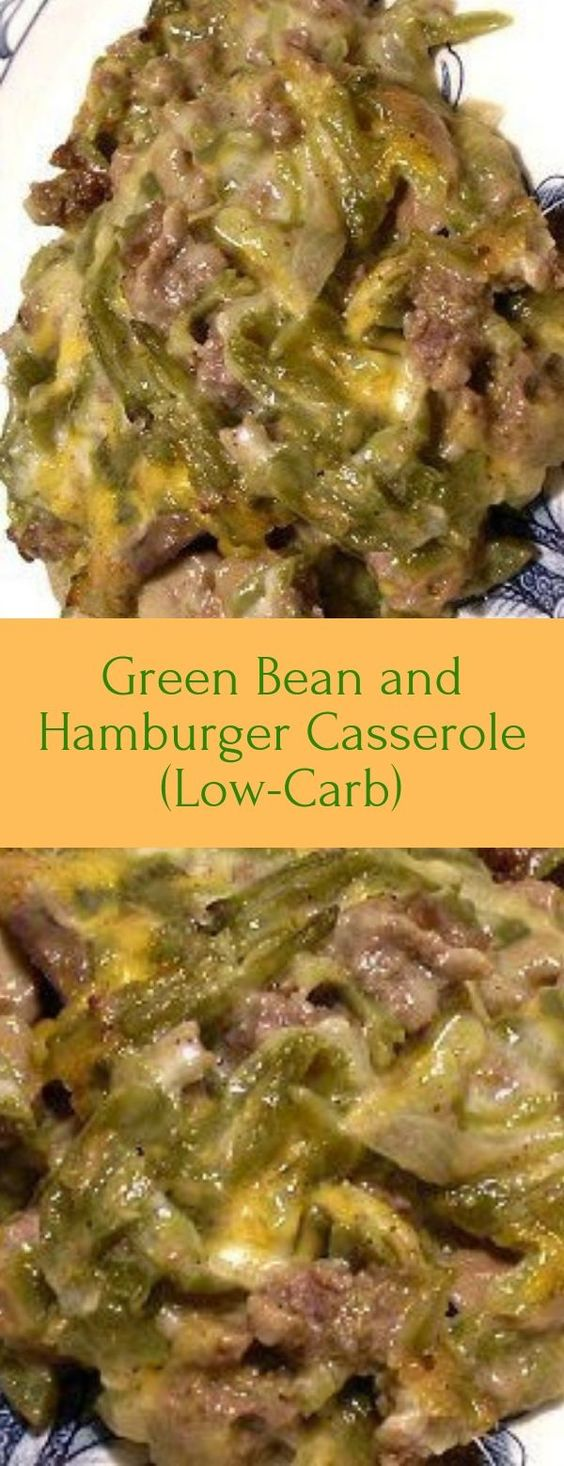 This is probably one of my favorite Green Bean and Hamburger Casserole Not only is it packed full of cheesy goodness, but it's loaded with veggies as well.