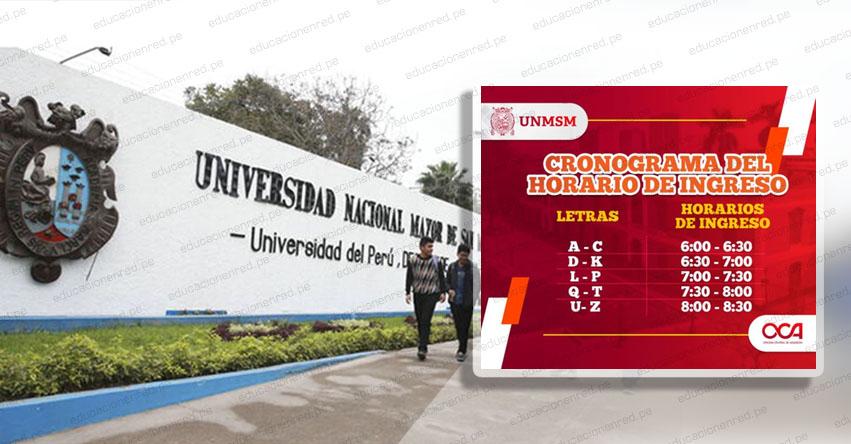 UNMSM: Horario de ingreso, medidas sanitarias y qué debes llevar al Examen de Admisión presencial a la Universidad San Marcos [CRONOGRAMA HORARIOS]