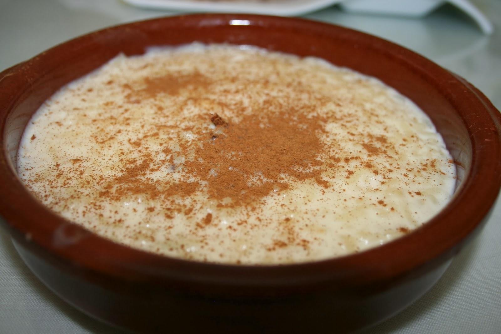 Resultado de imagen de arroz con leche