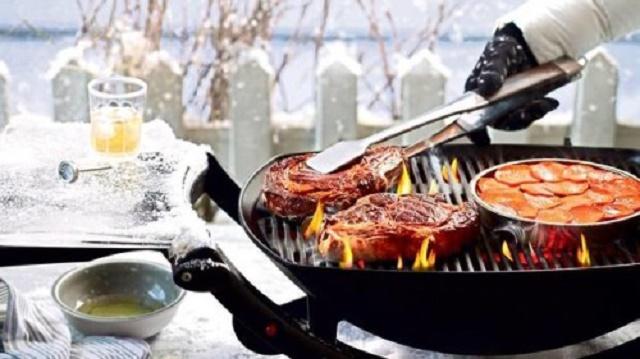 Winter grilling ideas