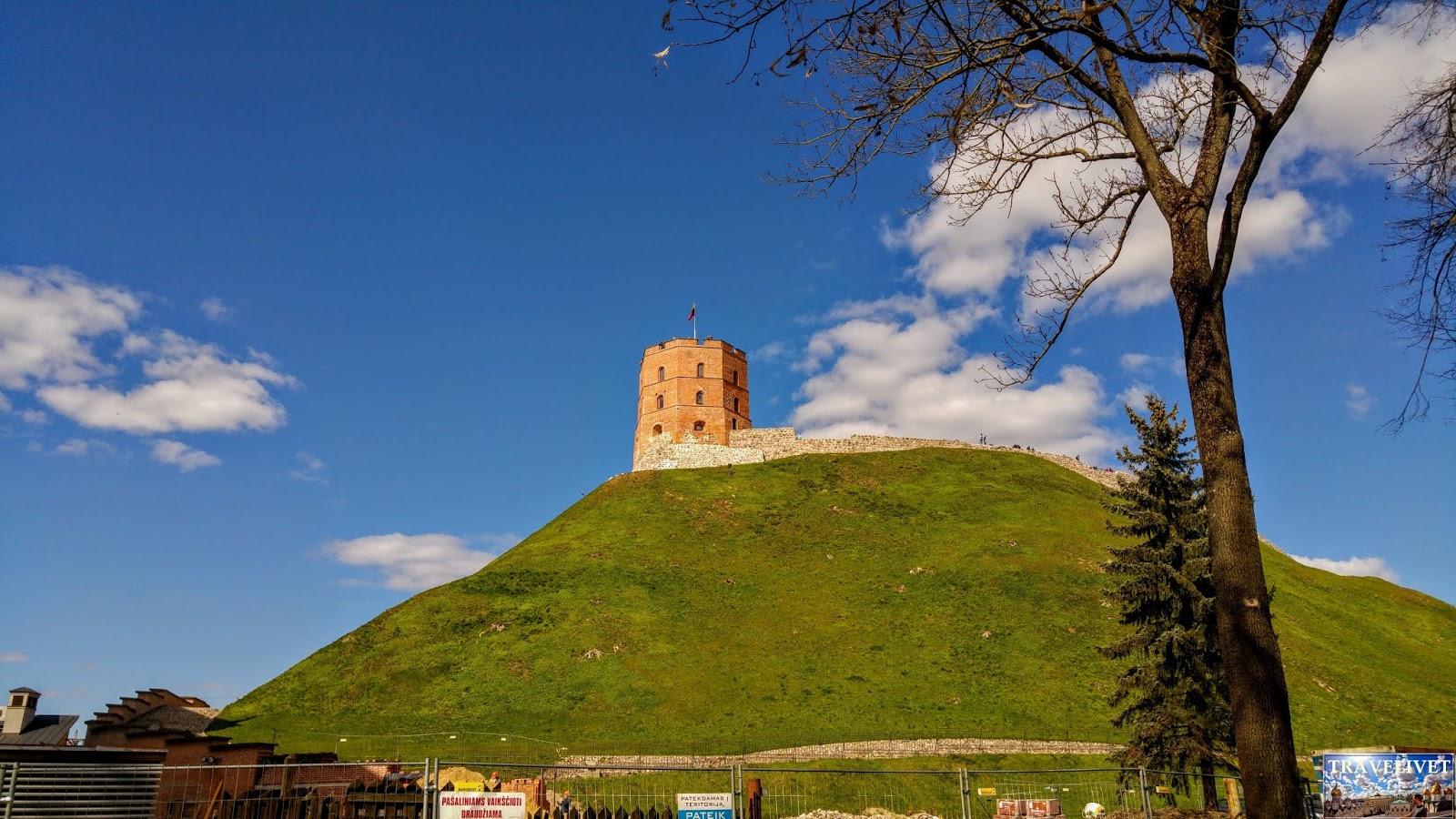 Lituanie Vilnius tour de Gediminas