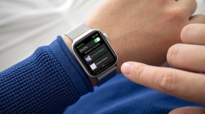 سبوتيفاي متوفر على ساعة Apple Watch في نسخته النهائية