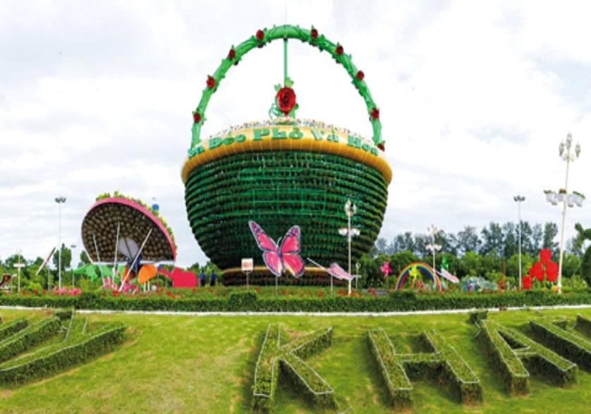 làng hoa Sa Đéc Đồng Tháp