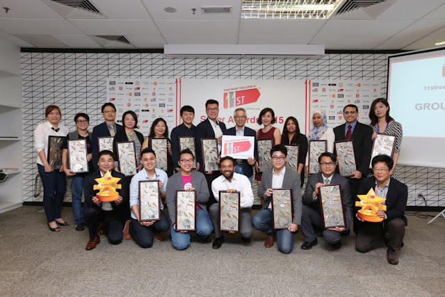 11street Seller Awards' Winners group photo
