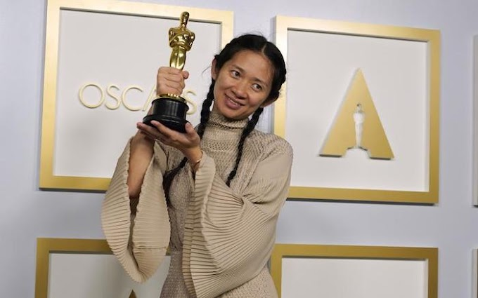 [Entertainment] Nomadland Wins Best Picture at Oscars, Hopkins Wins over Chadwick Boseman