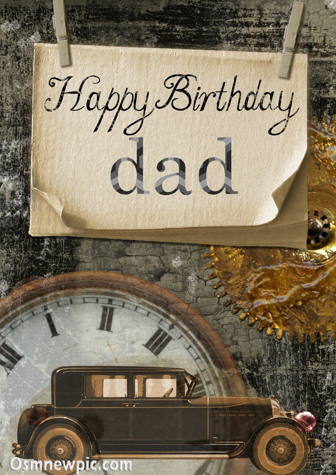 Free Happy Birthday Dad Images