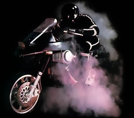 "MEMÓRIA NERD: MOTO LASER (""Street Hawk"") 1985"