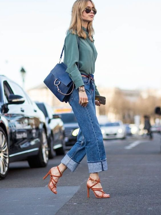 Look de Pernille Fashion Week - Leather Chloe Faye Bag