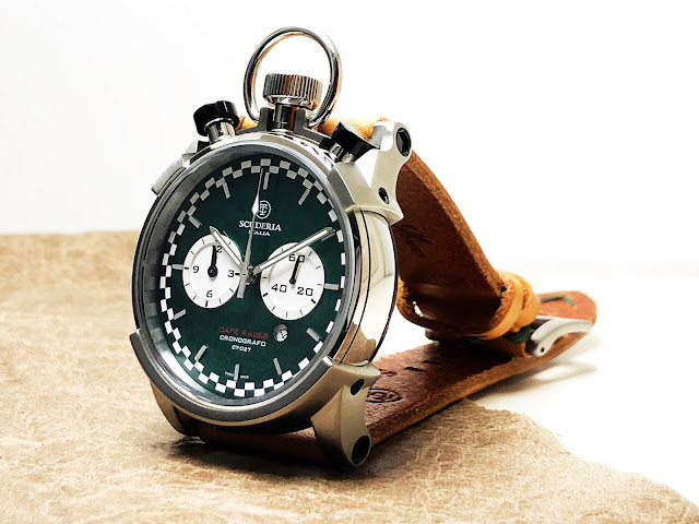 大阪 梅田 ハービスプラザ WATCH 腕時計 ウォッチ ベルト 直営 公式 CT SCUDERIA CTスクーデリア Cafe Racer カフェレーサー Triumph トライアンフ Norton ノートン フェラーリ CAFE RACER カフェレーサー CS20121 CS20122