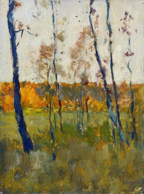 Исаак Ильич Левитан - Осень. 1899