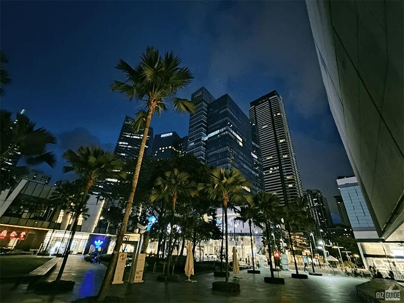 Ultra-wide camera night mode
