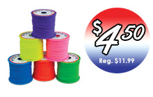 Rexlace 6-Pack Sale - Only $4.50 each through June 30, 2017.