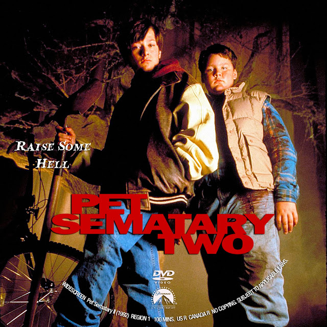 Pet Sematary 2 DVD Label