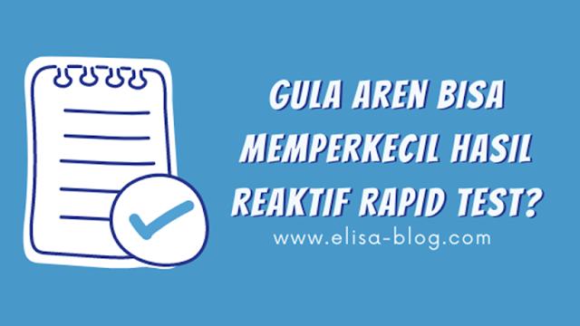 4 Hal yang Tidak Boleh Dilakukan Sebelum Rapid Test