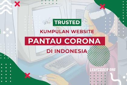 Kumpulan Website Resmi Pantau Corona di Indonesia