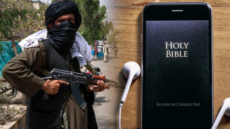 Talibanes persiguen a cristianos