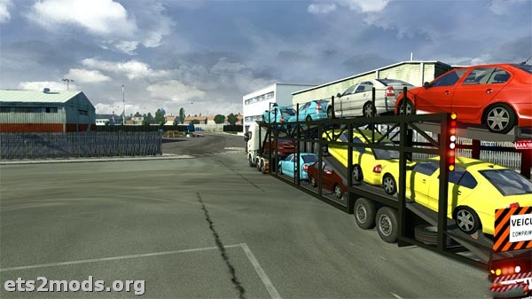 Modified Car Transporter