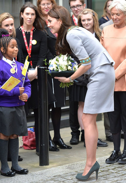 Kate Middleton attends Place2Be Headteacher conference in London