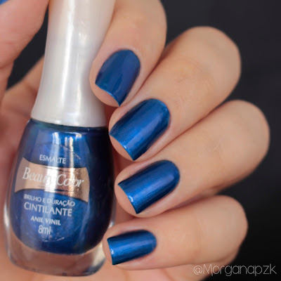 "Esmalte ""Anil Vinil"" da Beauty Color"