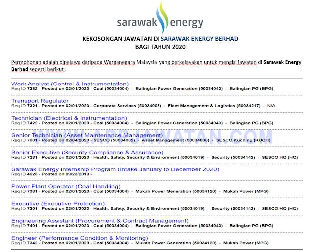Sarawak Energy Berhad
