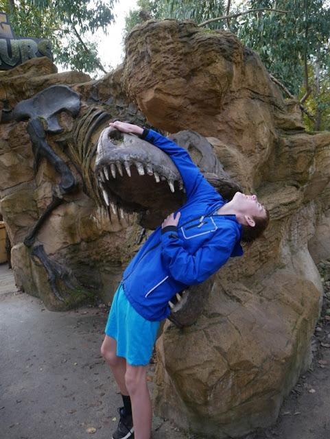 West Midlands Safari Park dinosaur