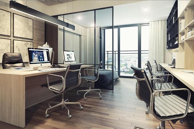 căn hộ Officetel DLC Complex