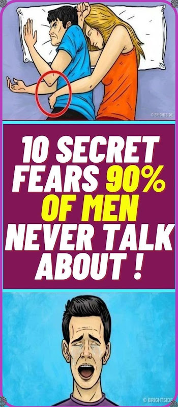 Men Can Literally NEVER Talk About This Fears!