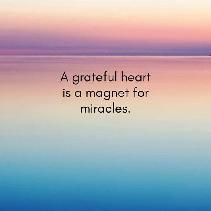 a greatful heart