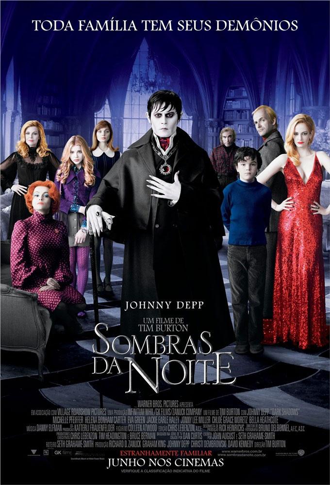 Filme: Sombras da Noite (Dark Shadows)