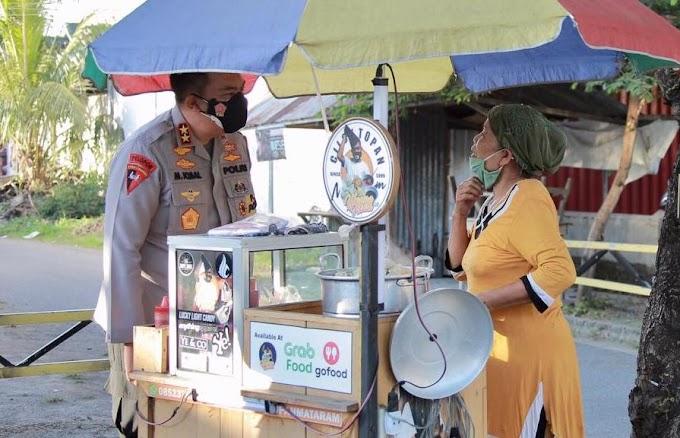 Intip Aksi Kapolda NTB di Tengah Pemberlakuan PPKM di Kota Mataram