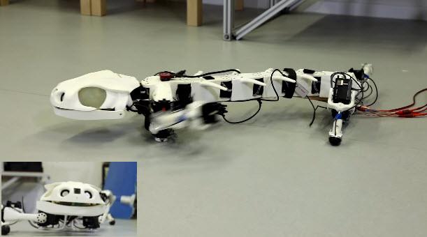 روبوت محاكاة للحيوانات الزاحفة