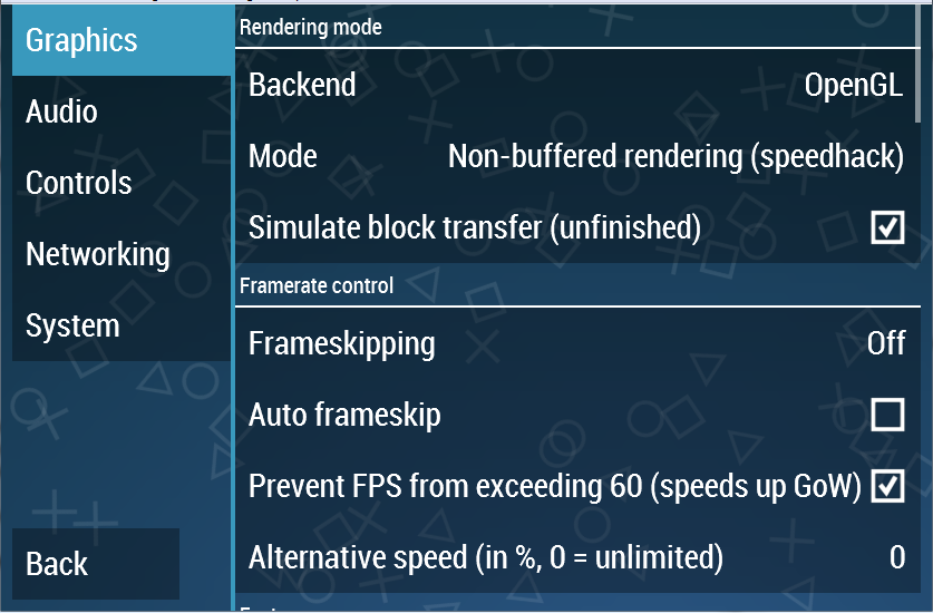 setting grafik ppsspp android komputer