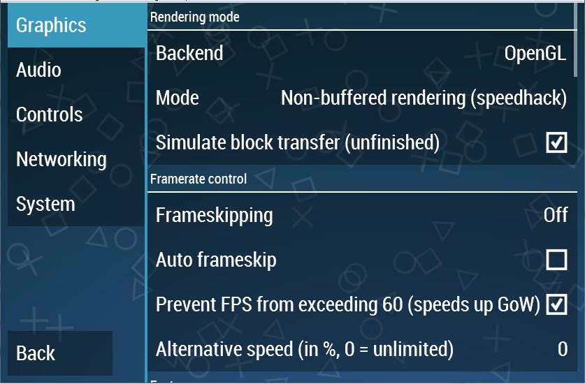 setting grafik ppsspp android komputer