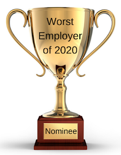 """The 11th nominee for the """"worst employer of 2020"""" is … the horrific human traffickers"""