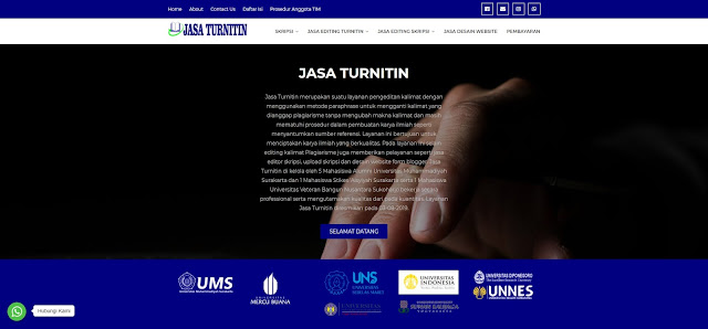 Jasa Turnitin Gratis Profesional di Yogyakarta