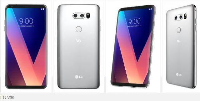 LG V30 Resmi Dengan Layar 6 inci P-OLED