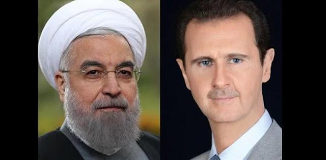 Assad Ke Rouhani: Negara-Negara Barat Kehilangan Kendali Atas Konflik Suriah